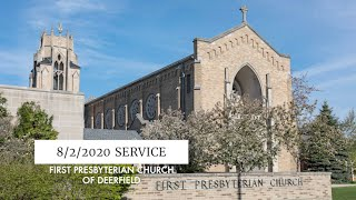 FPCD Sunday Service August 2nd 2020