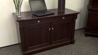 Laptop Credenza | Sauder Palladia | National Business Furniture