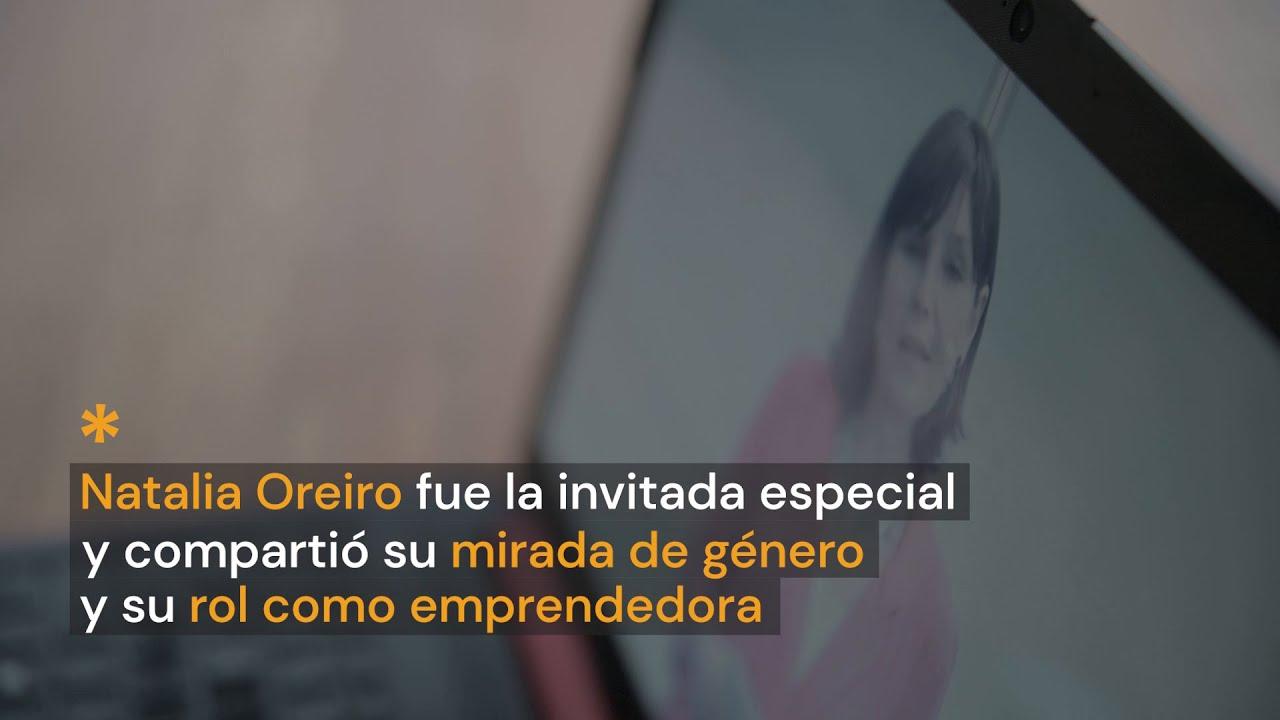 Natalia Oreiro y su mensaje a las emprendedoras uruguayas