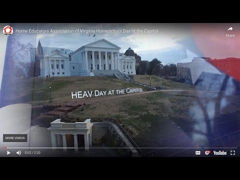 Home Educators Association of Virginia Homeschool Day at the Capitol