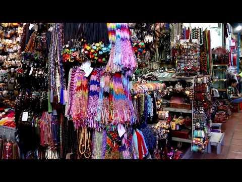 The souvenir stuffs made of Silver,Bronze and Copper l Russian Market l Phnom Penh