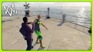 STARTING FIGHTS WITH STRANGERS | Watch Dogs 2 Free Roam