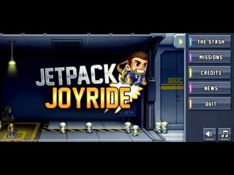 1# Обзор игры: Jetpack Joyride * ПЕРВЫЙ ВЫПУСК !