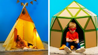 27 FUN AND SIMPLE CARDBOARD DIYS FOR KIDS