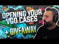 Opening Your Cases + GIVEAWAY!!!!!!!!!!!