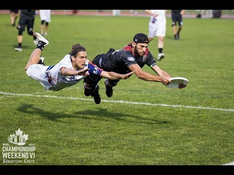 2017 AUDL Semifinal: Toronto Rush vs Dallas Roughnecks