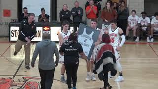 Stoughton High Boys Basketball Honors David Bell & Nick Joyce