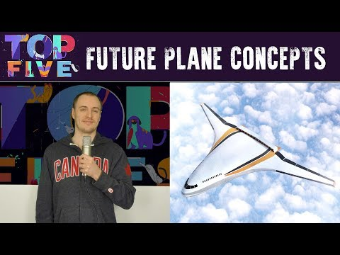 Top 5 Amazing Future Plane Concepts