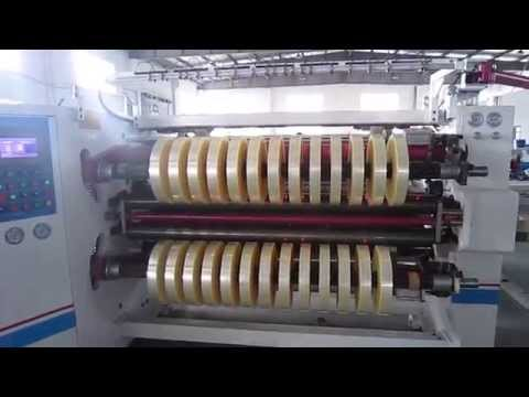 FR-218CAA 2000M BOPP Packing Tape Making Process (Adhesive Tape Production Line)
