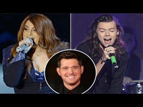 Harry Styles & Meghan Trainor's Song For Michael Buble Has Been Leaked