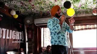 SPOTLIGHT - An Open Mic Festival (Performance - 32 Amandeep Singh - Stand up Comedy)