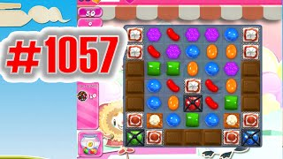 Candy Crush Saga Level 1057 NEW | Complete!