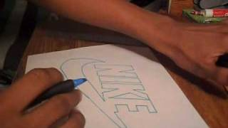 Drawing The NIKE Logo