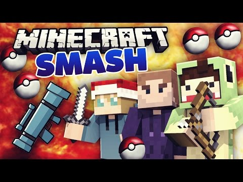 SMASH mit der Crew - Raketenwerfer & Pokebälle! - Minecraft GAMES! #01   unge