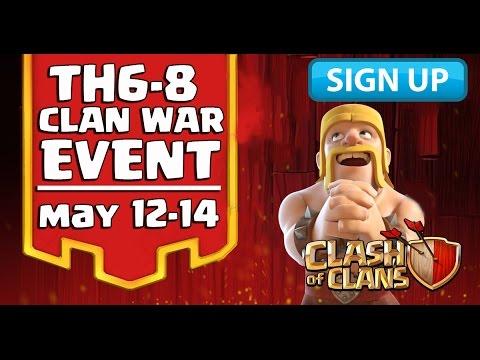 Clash of Clans Reddit Tournament - Th6-Th8 (Friendly War Tournament) [Town Hall 6, 7 & 8] | CoC