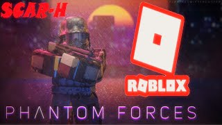 Phantom Forces Roblox SCAR H Gameplay