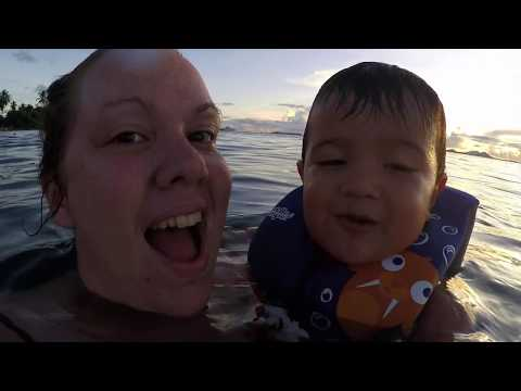 One year in Micronesia