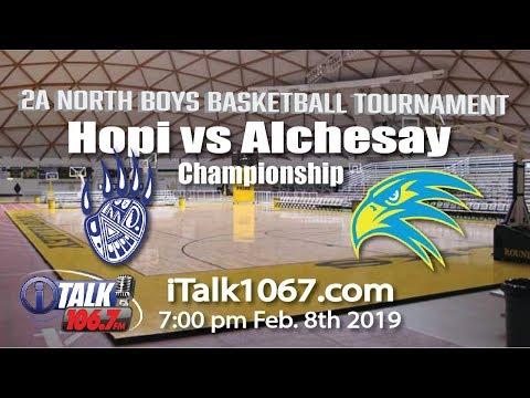 Hopi Vs Alchesay Boys 2A North Region Basketball Championship Full Game