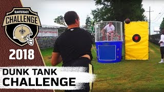 Dunk Tank Challenge | 2018 QB Challenge | Ep. 9