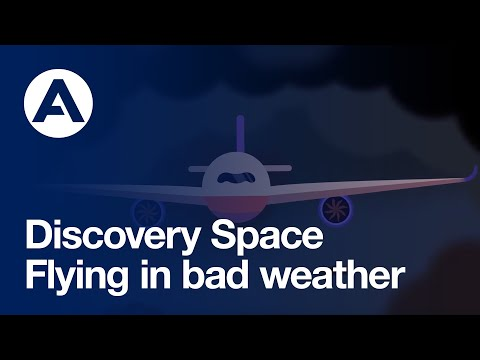 How airplanes fly in bad weather   Discovery Space