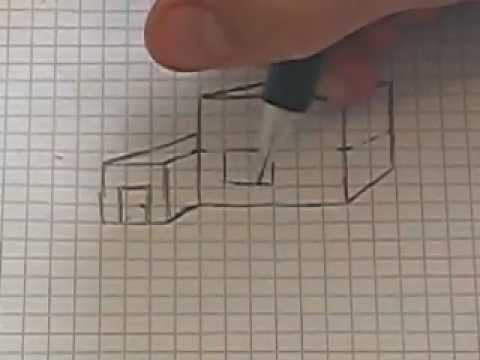 Basic 1 point perspective lesson architectural drawing for Basic architectural styles