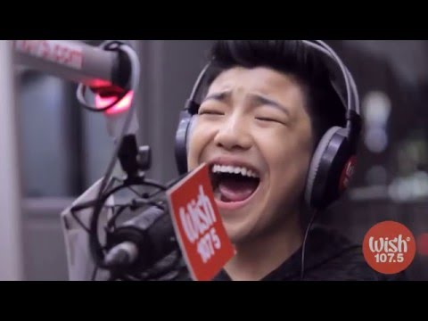 Darren Espanto sings Fantasias I Believe  on Wish 107 5 Bus HD 1