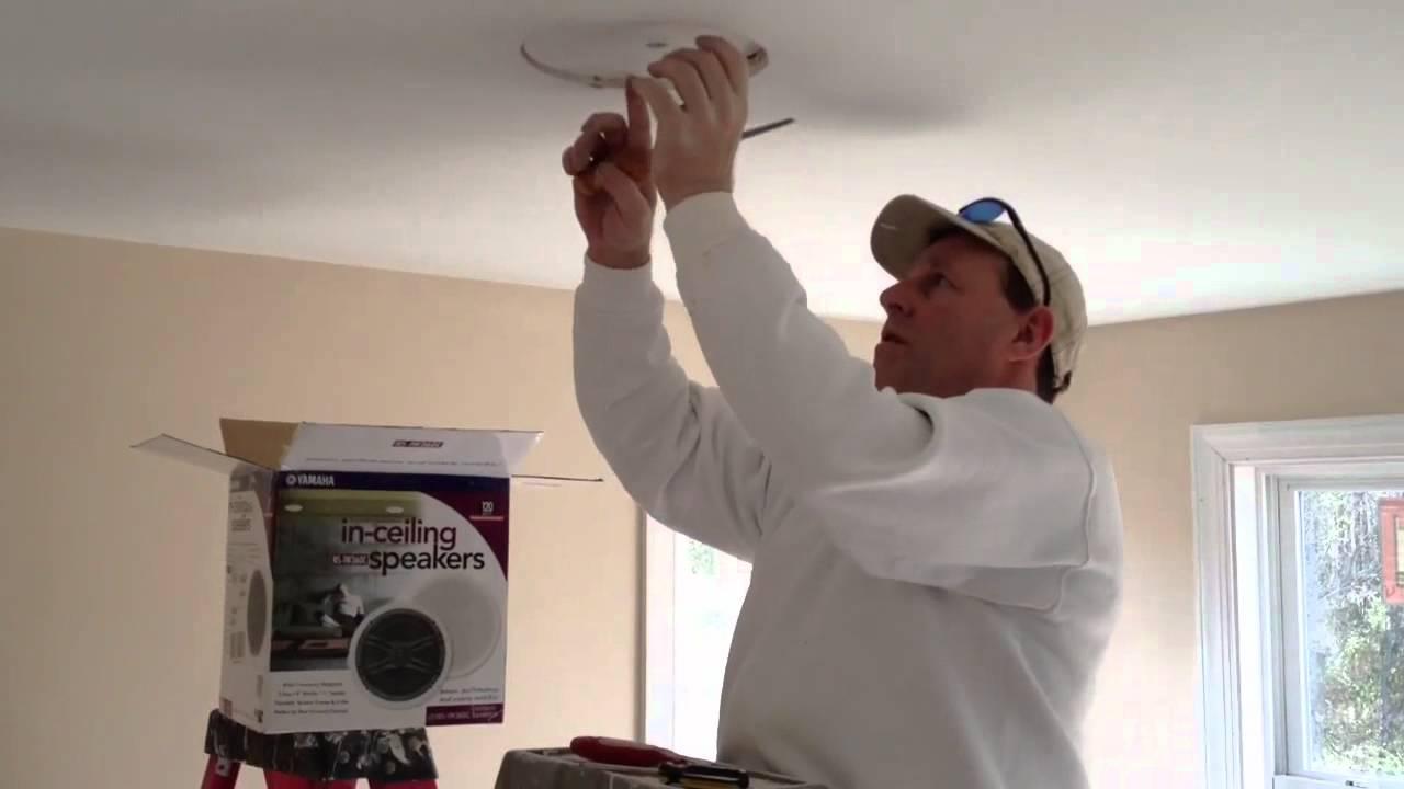 Installing Ceiling Speakers Wiring | www.energywarden.net