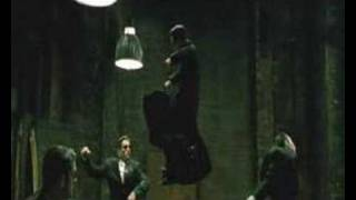 Matrix Reloaded - Intro Fight Scene - Three Agents