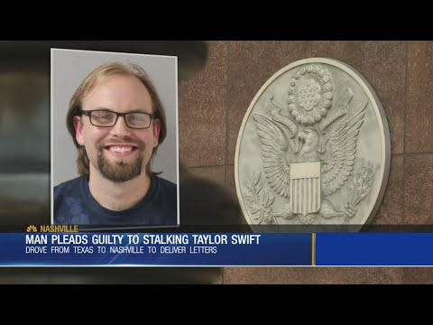 Austin man peads guilty to stalking Taylor Swift