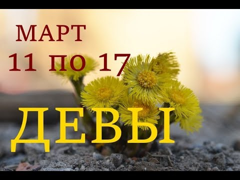 ДЕВА. ПРОГНОЗ на НЕДЕЛЮ с 11 по 17 МАРТА 2019г.