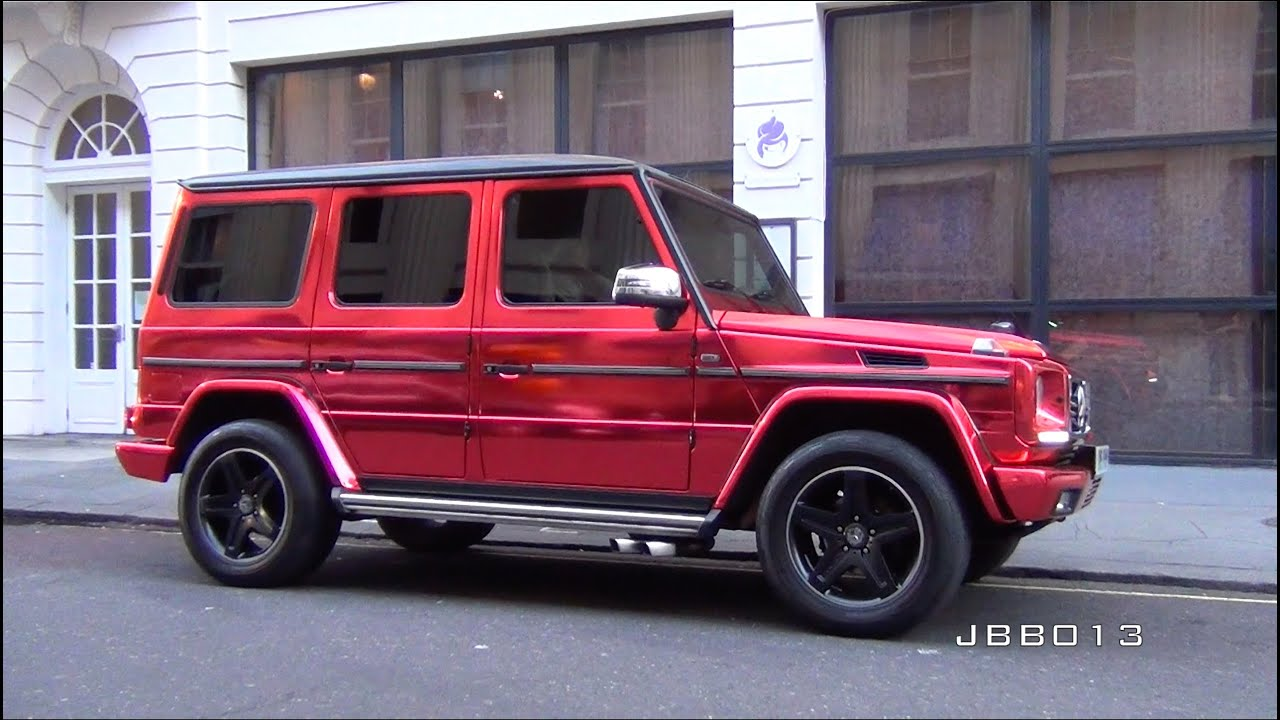 The LOUDEST G Wagon AMG IN THE WORLD