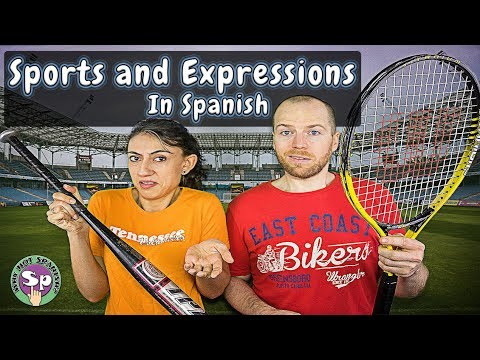 Sports Vocabulary and Expressions in Spanish