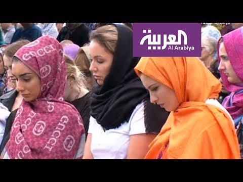 رسالة سلام من لاجئة سورية فقدت زوجها وابنها في مجزرة نيوزيلن  - نشر قبل 8 ساعة