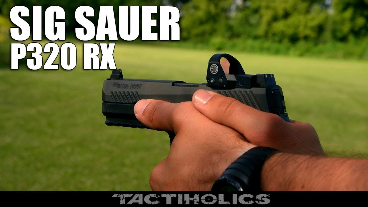 Sig Sauer P320 RX | Romeo 1| Shooting & Review - Tactiholics™