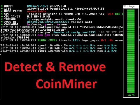 Detect And Remove Coin Miner