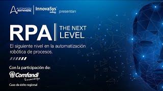 Evento virtual - RPA The Next Level - InnovaSys 22/10/2020