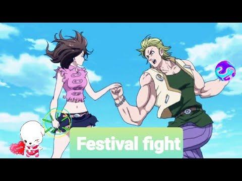 Diane vs Reable festival fight