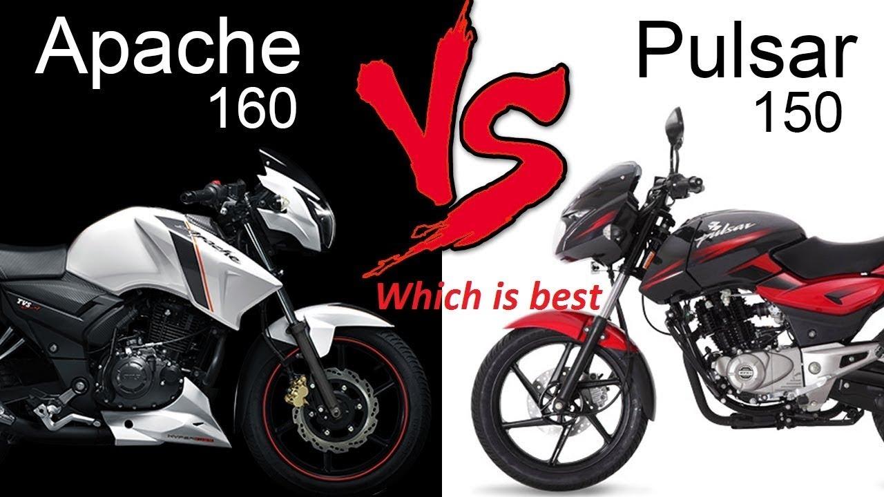 Bajaj Pulsar 150 vs TVS Apache RTR 160  Which bike you should buy? Check  link