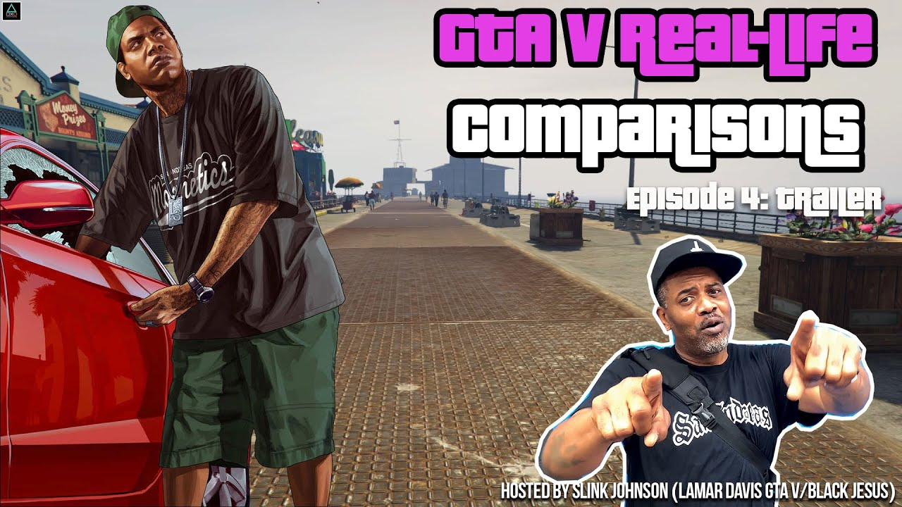 GTA V Real-Life Comparisons Episode 4 Trailer