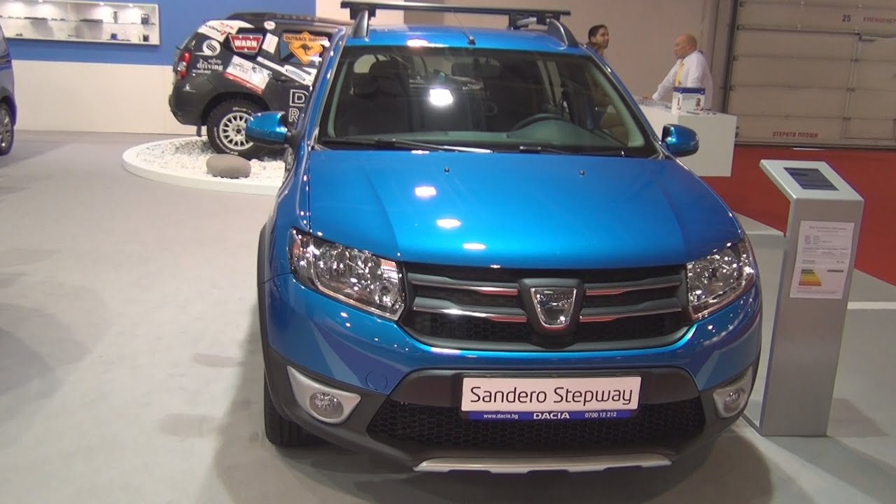 Dacia sandero stepway dci 90 2016 exterior and interior for Dacia sandero interior