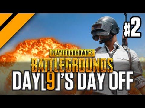 Day[9]'s Day Off - Playerunknown's Battlegrounds w/ JP & Sacriel! P2