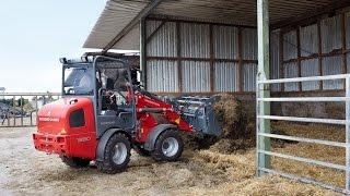 Weidemann – Hoftrac® 1380 Einsatz in der Landwirtschaft
