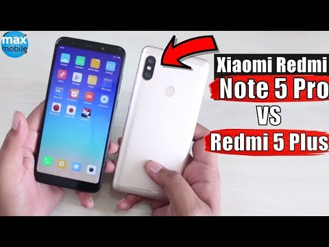 So sánh Redmi 5 Plus vs Redmi Note 5 Pro: chênh lệch 1 triệu có đáng?
