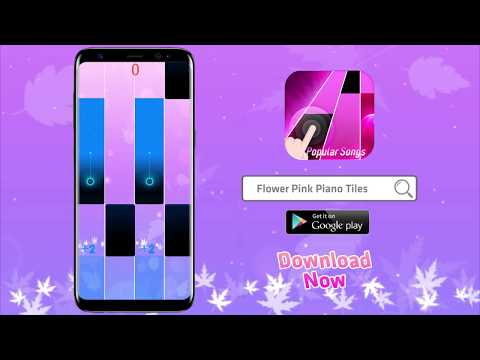 Flower Pink Piano Tiles - Girly Butterfly Songs - Apps on