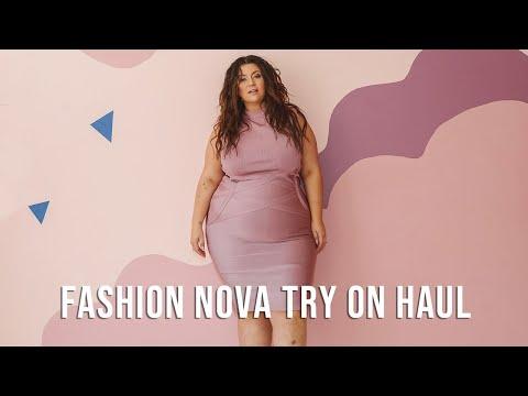 PLUS SIZE FASHION TRY ON HAUL | Fashion Nova Curve | Sometimes Glam