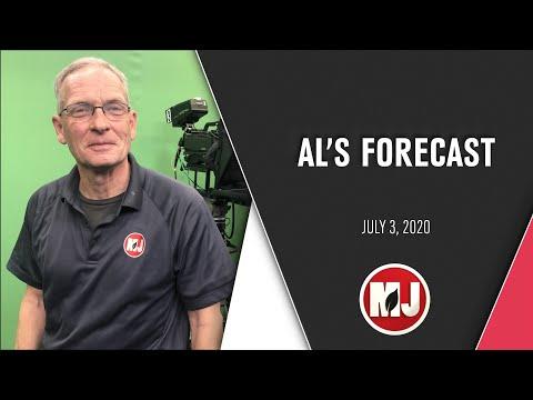 Al's Forecast   July 3, 2020