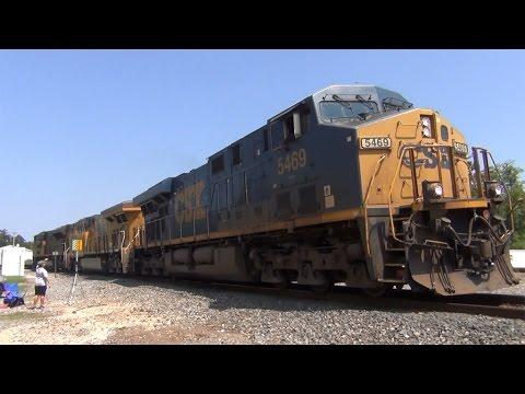 Railfanning Spring TX 9/3/2016