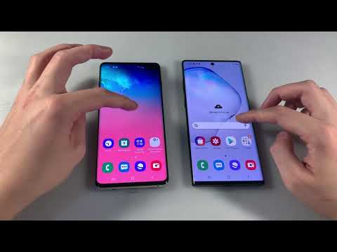Samsung Galaxy S10+ Vs Samsung Galaxy Note 10+