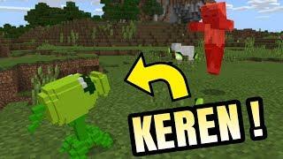 Plants Vs Zombie Di Minecraft  PE !   Minecraft Indonesia