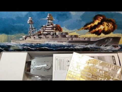 Hobby Boss USS Arizona Part 1 (Review of Kit & Photo Etch)